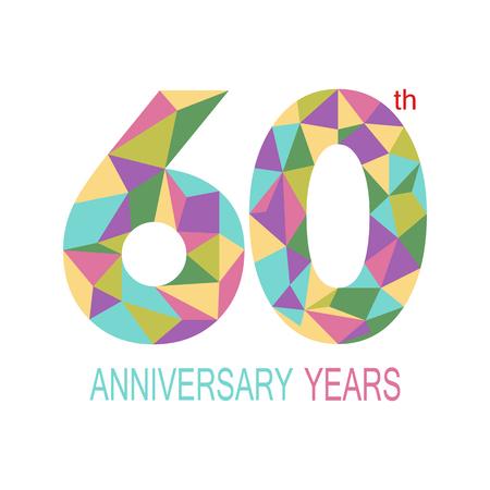 60: 60 anniversary.