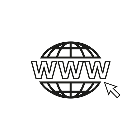 webhost: web icon for internet
