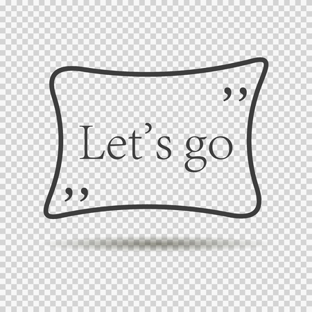 quoted: inscription lets go. quoted