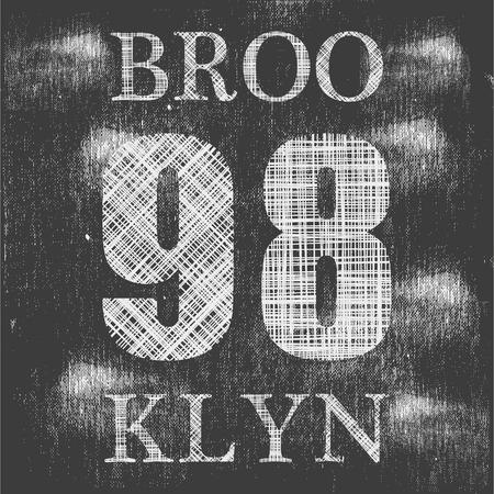 remix: Brooklyn remix typography, t-shirt graphics