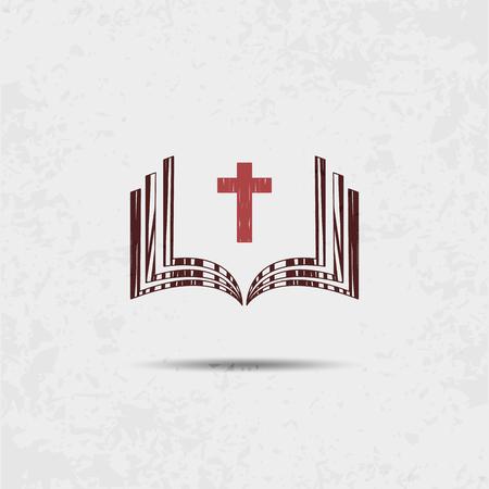 Bible Church logo. nazwa misji. Towarzystwo Biblijne.
