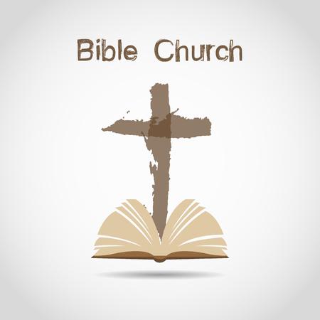 omega: Church, Cross, bible.