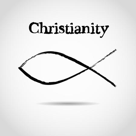 pez cristiano: s�mbolo cristiano de los pescados