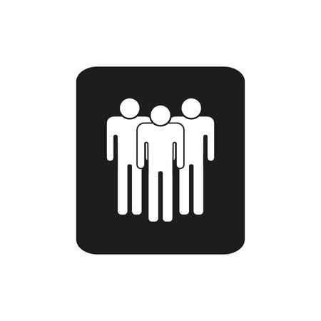 people icon: People Icon, people icon flat, people icon picture, people icon vector, people icon, people icon graphic, people icon object, Illustration