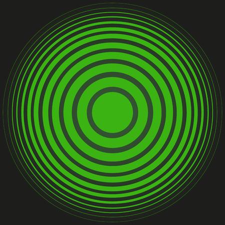radar: Radar screen concentric circle elements background