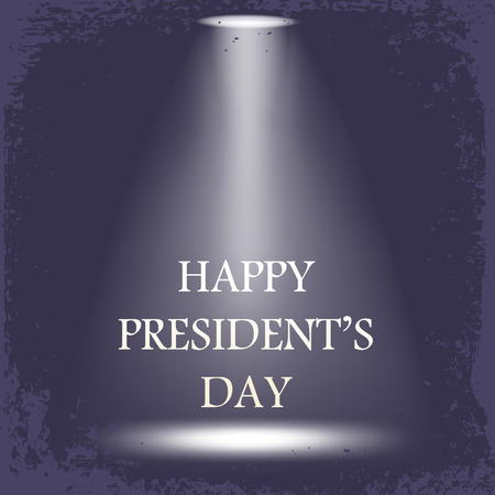 Yappy presidents day background Illustration