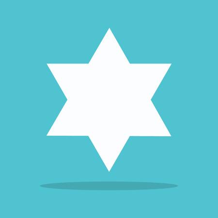 Star of David. logo for web design