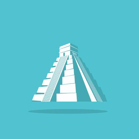 Egyptian pyramid logo for web Illustration