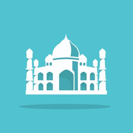 agra: The Taj Mahal in cool design