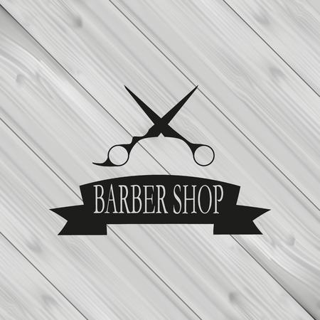 hair style: Barber shop banner, background Illustration