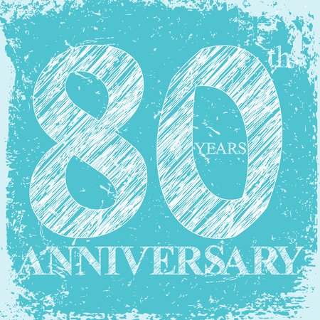 Anniversary grunge background for web