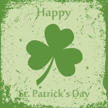 Happy st. Patricks day vector illustration. Illustration