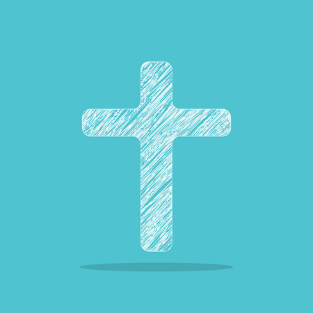 Cross for web design Illustration