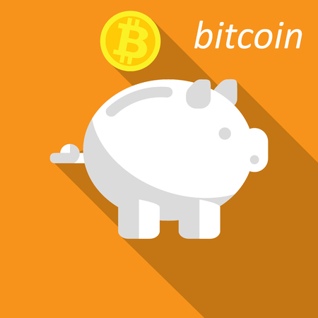 money box, pig for bitcoin
