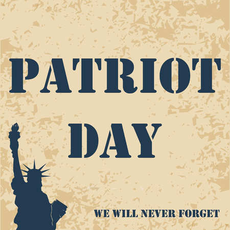 Patriot Day 911 poster template