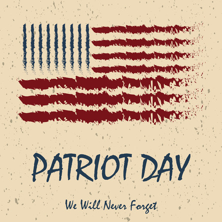 Poster Template for Patriot Day.