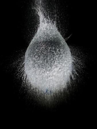Balloon water splash