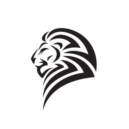 Lion tattoo - vector illustration Illusztráció