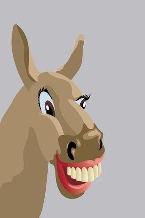 satire: donkey
