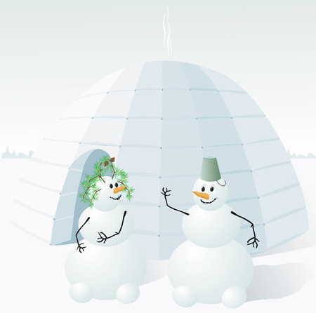 snowman Stock Vector - 2066838