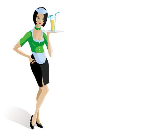 bartender: serveuse
