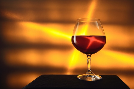 cognac,focus on a foreground,shallow DOF. photo