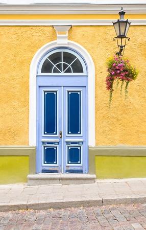 wood door in old city. Stock Photo - 9953349
