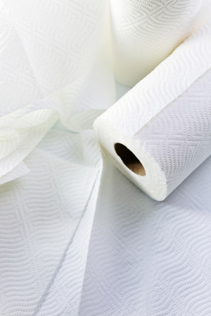 White paper towel  photo