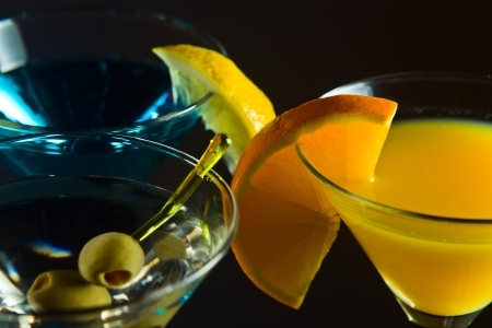 longdrink: martini