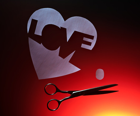 The Broken Heart A Symbol Of Unfortunate Love Stock Photo Picture