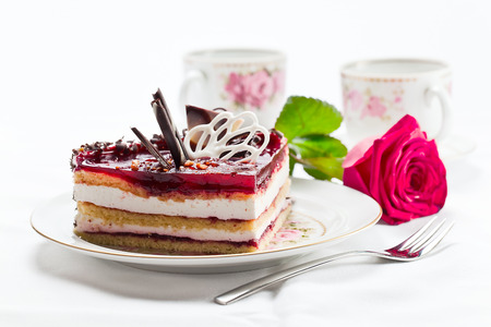 torte: Photograph of a tasty  torte with jelly