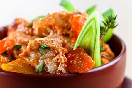 irish easter: Homemade Irish Beef Stew with Carrots and Potatoes