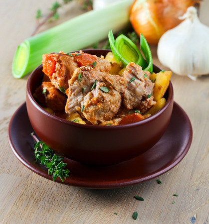 beef stew: Homemade Irish Beef Stew with Carrots and Potatoes
