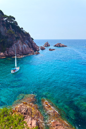 costa brava: Mediterranean coast of Spain, Costa Brava Stock Photo