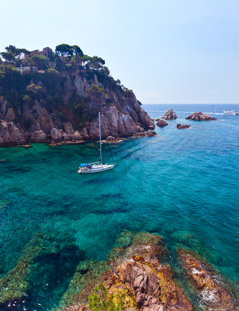 seascapes: Seascape . Mediterranean coast of Spain, Costa Brava