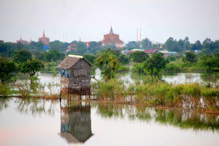 A magnificent evening on the lake near Phnom Penh 5, Cambodia
