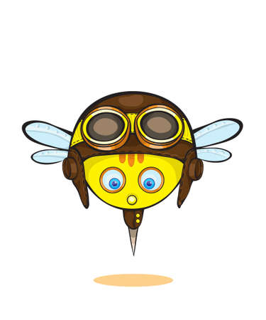 scheming:  emotional bee face icons