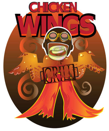 fried chicken wings: Wings Grill for lovers of fried chicken.