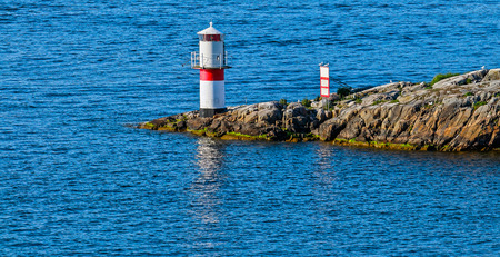 beacon: Alone beacon in Stockholm archipelago, Sweden