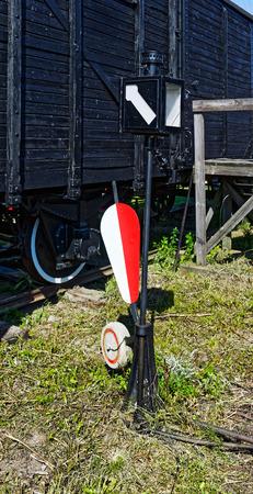 palanca: Ferrocarril Interruptor Manual Palanca Foto de archivo