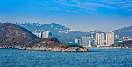 repulse: Highrise residential apartments building in Repulse Bay, Hong Kong island