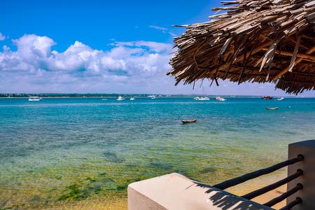 es: The shores of the Indian Ocean in Dar es Salaam, Tanzania, Africa Stock Photo