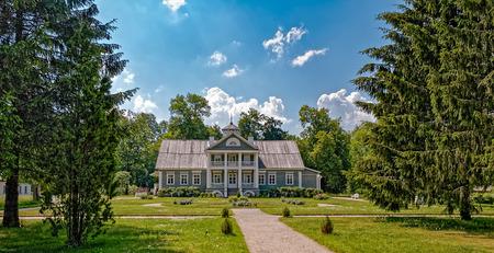 ancestors: Family estate ancestors Alexander Pushkins Hannibal, Pushkinskiye Gory, Pskov region, Russia