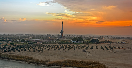 bayonet: AK47 Bayonet is a memorial near Ismailia to the Egyptian soldiers who died in the Battle of Ismailia October 18-22, 1973. Egypt, Africa This Egyptian work is currently in the public domain in Egypt because its copyright has expired pursuant to the provisi