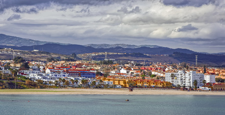 lowrise: Residential low-rise buildings at shore of Algesiras, Spain