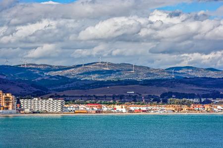 lowrise: Residential low-rise buildings at shore of Algesiras, Spain