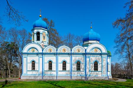 orthodox church: Christ Transfiguration Orthodox Church at Cesis, Latvia