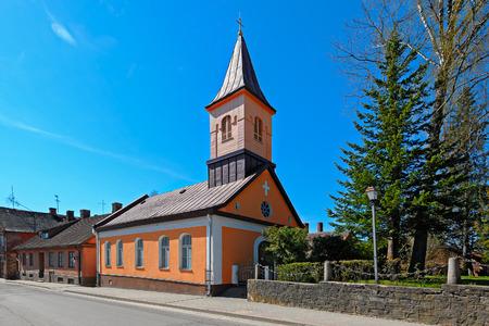 christ the king: Cesis Christ the King Roman Catholic Church. Latvia