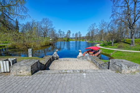 pacification: Park is built around the 1832, the landscape includes the medieval castle ruins.