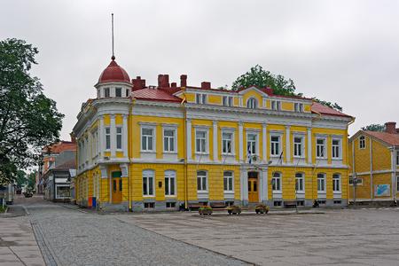 old town hall: Old Town Hall building in Tammisaari (Ekenas), Finland